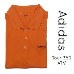 Tour 360 ClimaLite Golf Polo Shirt EUC